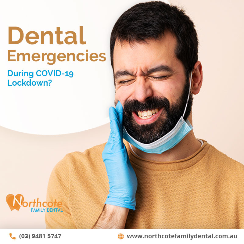 Dental Emergencies during COVID-19 Lockdown?